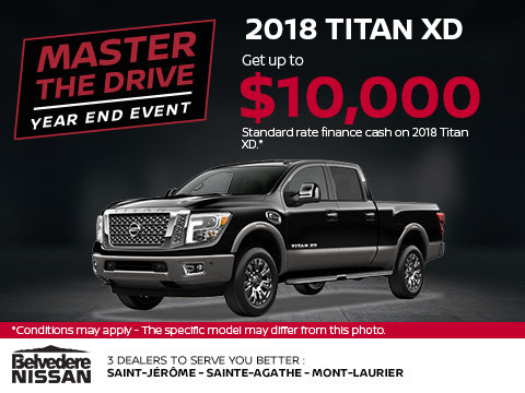 Save on the 2018 Titan Today!