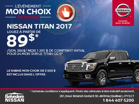 Titan 2017 en location