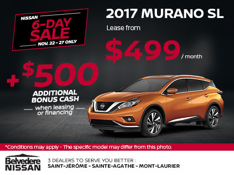2017 Murano