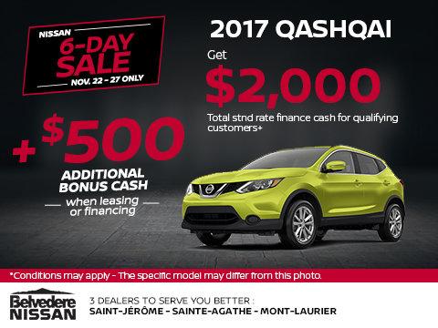 Get the 2017 Qashqai!