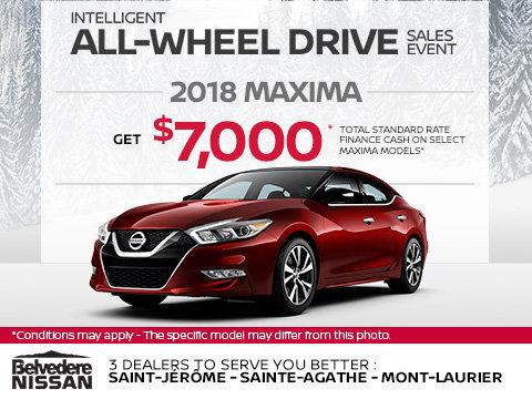 The 2018 Nissan Maxima