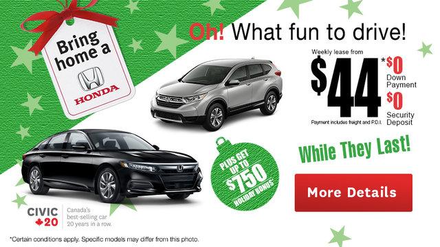 Bring Home a Honda Event!