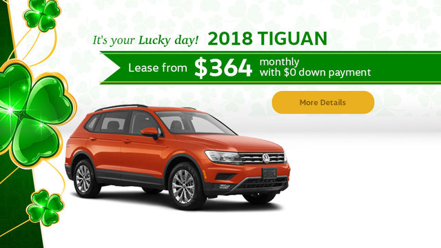It's your Lucky day! 2018 Tiguan (mobile)