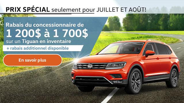 Prix spécial - Juillet et août - Tiguan (mobile)