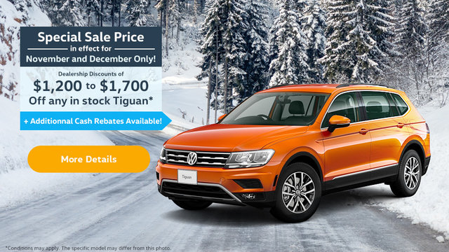 Special Sale Price - November, December - Tiguan (mobile)