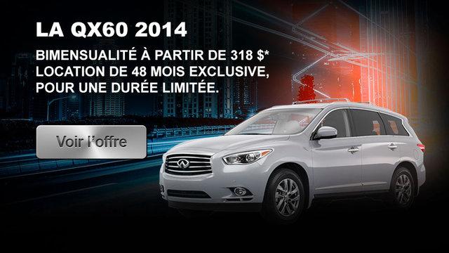 La QX60 2014