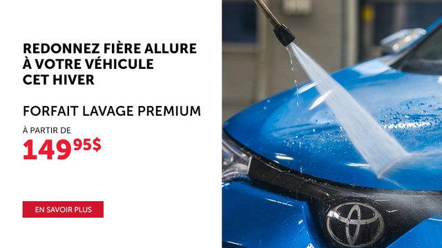 Forfait Lavage Premium (mobile)
