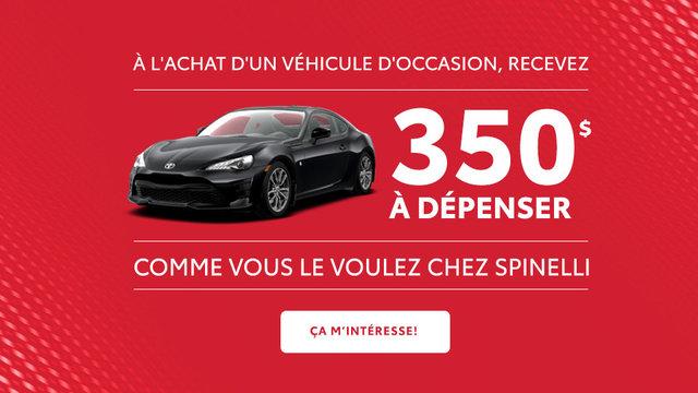Rabais 350 occasion Toyota (mobile)