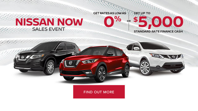 Nissan Now Sales Event (mobile)