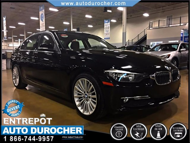 BMW 3 Series 320i xDrive AUTOMATIQUE AWD CUIR TOIT OUVRANT 2015