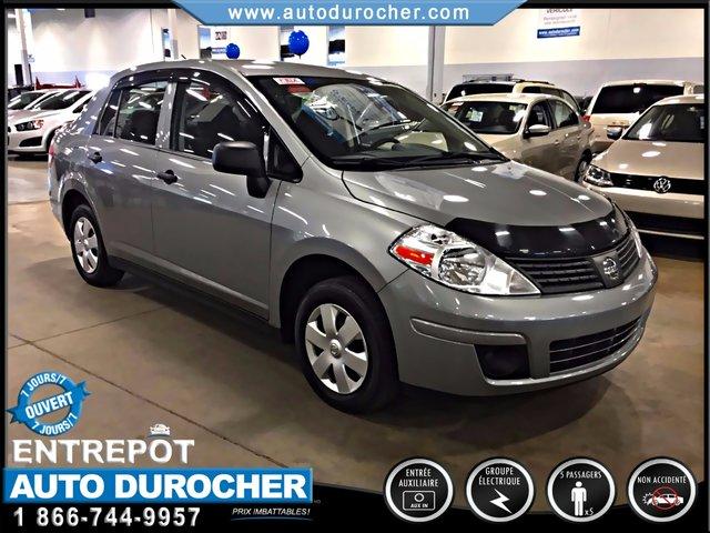 Nissan Versa BAS KILOMÉTRAGE FINANCEMENT DISPONIBLE 2011