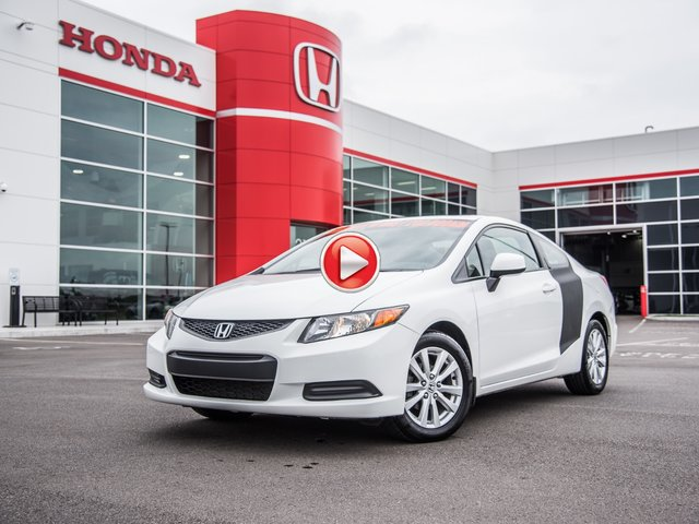 Honda Civic EX COUPÉ 2012