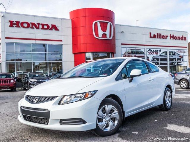 Honda Civic LX +GARANTIE 10 ANS OU 200 000 KM 2013