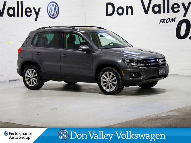2014 Volkswagen Tiguan TIGUAN COMFORTLINE NAV R.CAM MOONROOF HTD LEA