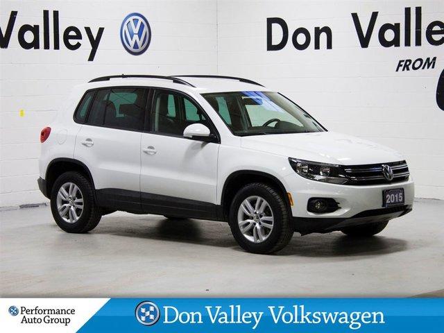 2015 Volkswagen Tiguan 4 Wheel Drive Bluetooth HTD seats A/C