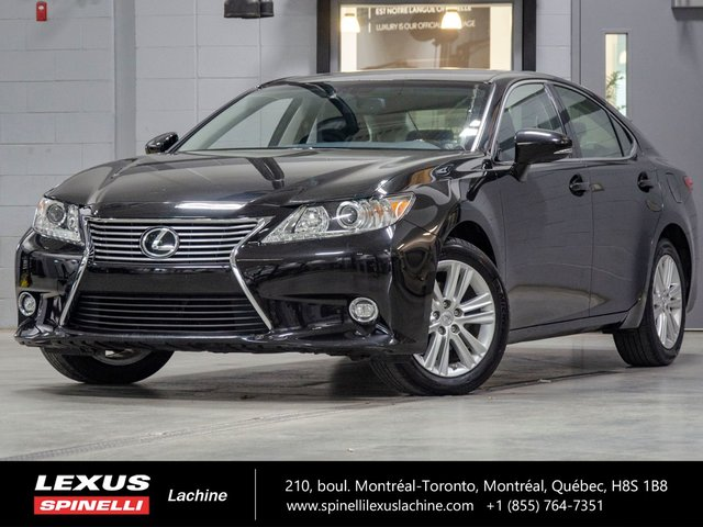 Lexus ES 350 TOURING; CUIR TOIT GPS ANGLES MORTS 2015