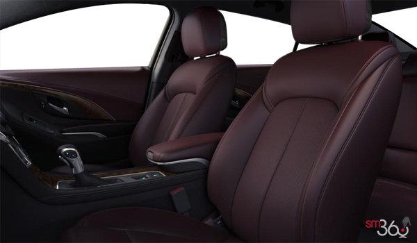 2016 Buick LaCrosse LEATHER | Photo 1 | Ebony/Sangria Semi-Aniline Perforated Leather