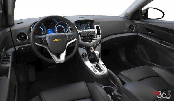 2016 Chevrolet Cruze Limited LTZ   Photo 3   Jet Black Meridian Leather