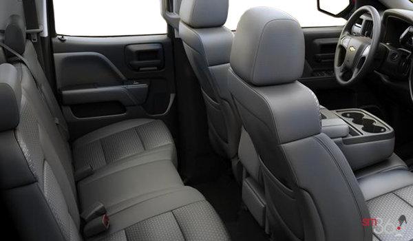 2016 Chevrolet Silverado 1500 CUSTOM | Photo 2 | Dark Ash/Jet Black Cloth