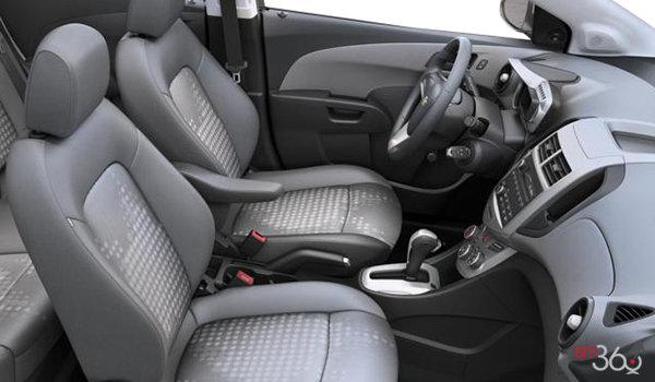 2016 Chevrolet Sonic Hatchback LS   Photo 1   Jet Black/Dark Titanium Sport Cloth