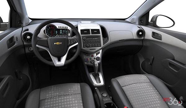 2016 Chevrolet Sonic Hatchback LS   Photo 3   Jet Black/Dark Titanium Sport Cloth