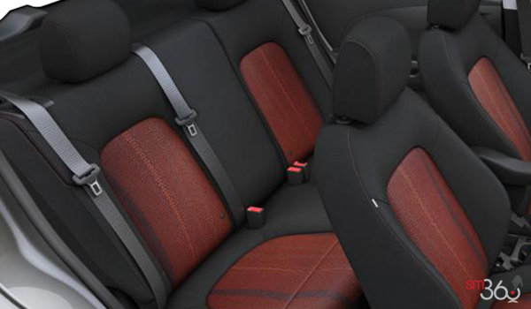 2016 Chevrolet Sonic Hatchback LT   Photo 2   Jet Black/Brick Deluxe Cloth