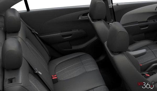 2016 Chevrolet Sonic LT | Photo 2 | Jet Black/Dark Titanium Deluxe Cloth