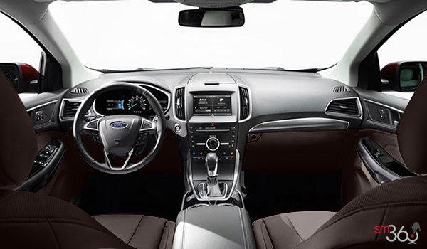 2016 Ford Edge TITANIUM | Photo 3 | Cognac Perforated Leather