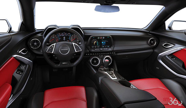 2017 Chevrolet Camaro coupe 2SS   Photo 3   Adrenaline Red Leather