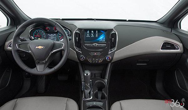 2017 Chevrolet Cruze LS   Photo 3   Dark Atmosphere/Medium Atmosphere Cloth