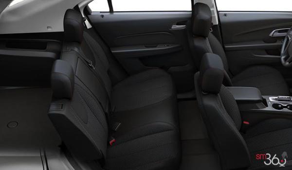 2017 Chevrolet Equinox LS   Photo 2   Jet Black Premium Cloth
