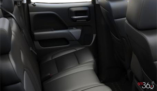 2017 Chevrolet Silverado 1500 LT Z71 | Photo 2 | Jet Black Leather