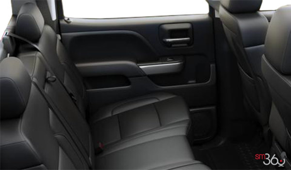 2017 Chevrolet Silverado 1500 LT | Photo 2 | Jet Black Leather