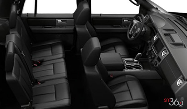 2017 Ford Expedition LIMITED | Photo 1 | Ebony Leather with perforated inserts