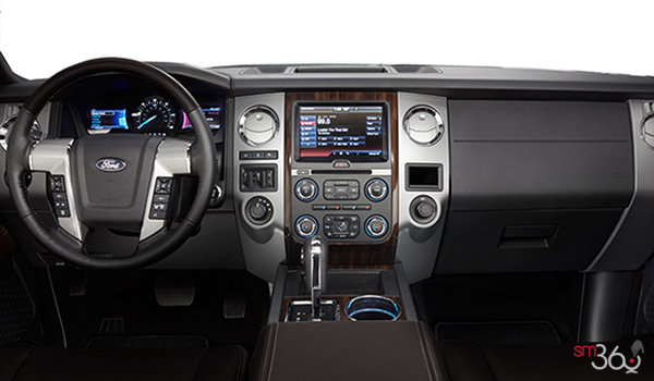 2017 Ford Expedition PLATINUM | Photo 3 | Brunello Luxury Leather with perforated insert and Agate Tuxedo Stripe
