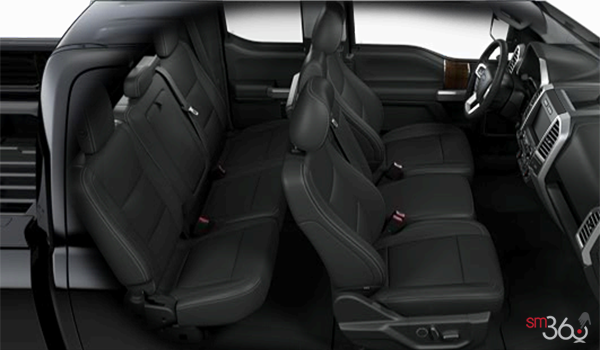 2017 Ford F-150 LARIAT | Photo 2 | Black Leather