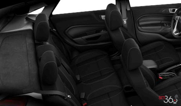 2017 Ford Fiesta Sedan SE | Photo 2 | Charcoal Black Unique Cloth Bolster w/Silver Seat Stitching