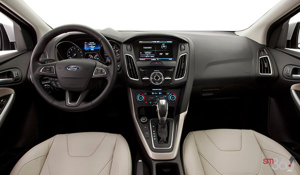 2017 Ford Focus Sedan TITANIUM | Photo 3 | Medium Soft Ceramic Leather