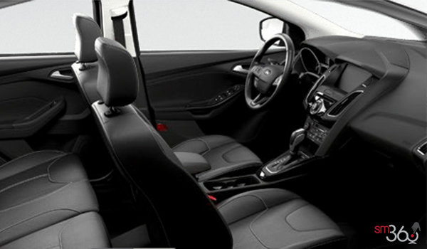 2017 Ford Focus Sedan TITANIUM | Photo 1 | Charcoal Black Leather