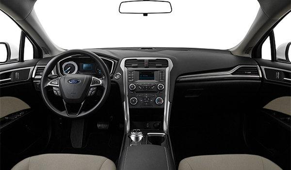 2017 Ford Fusion S | Photo 3 | Ebony Stone Cloth
