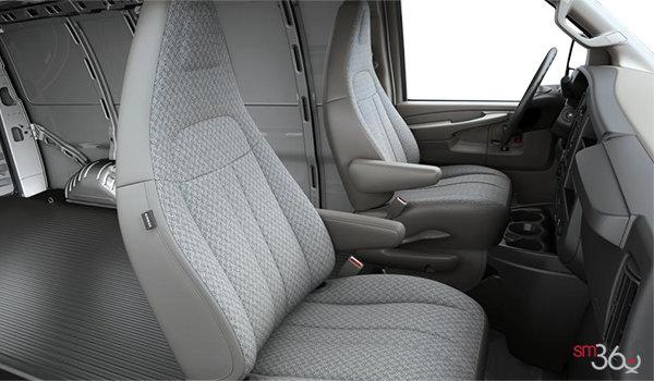 2017 GMC Savana 2500 CARGO   Photo 1   Medium Pewter Cloth