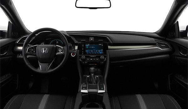 2017 Honda Civic hatchback SPORT   Photo 3   Black Fabric