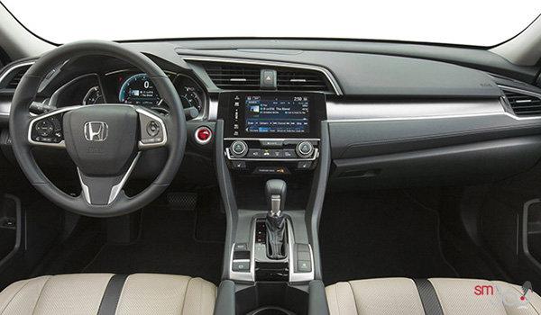 2017 Honda Civic Sedan TOURING | Photo 3 | Ivory Leather