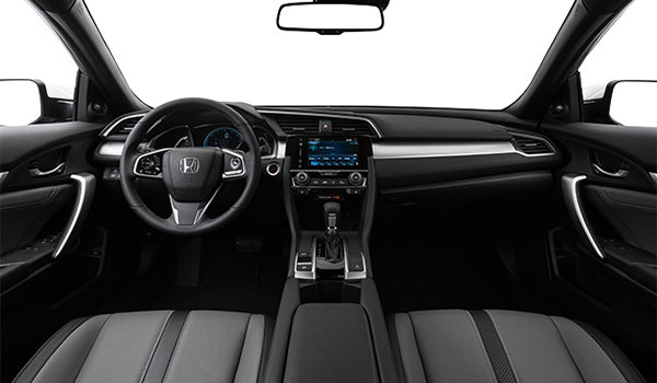2017 Honda Civic Coupe TOURING | Photo 3 | Grey Leather