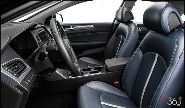 2017 Hyundai Sonata Hybrid LIMITED | Photo 1 | Blue Leather