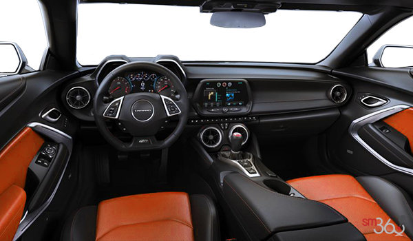 2018 Chevrolet Camaro convertible 2SS | Photo 3 | Jet Black Leather with Orange Inserts (HUZ-A50)