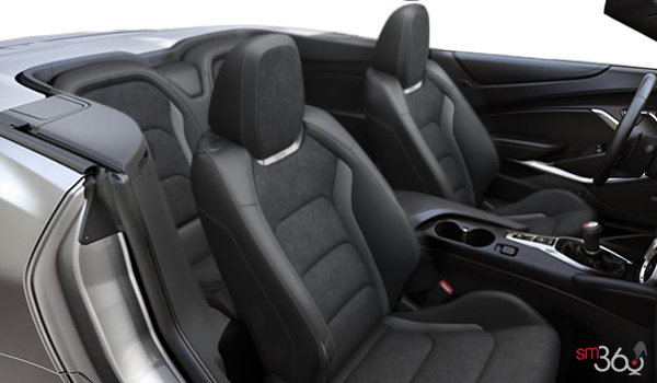 2018 Chevrolet Camaro convertible 2SS | Photo 1 | Jet Black Sueded Leather (HOY-AQJ)