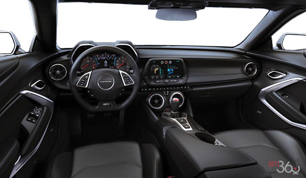 2018 Chevrolet Camaro convertible 2SS | Photo 3 | Jet Black Sueded Leather (HOY-AQJ)