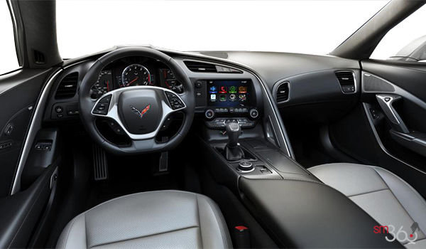 2018 Chevrolet Corvette Convertible Stingray 1LT | Photo 2 | Grey GT buckets Perforated Mulan leather seating surfaces (141-AQ9)
