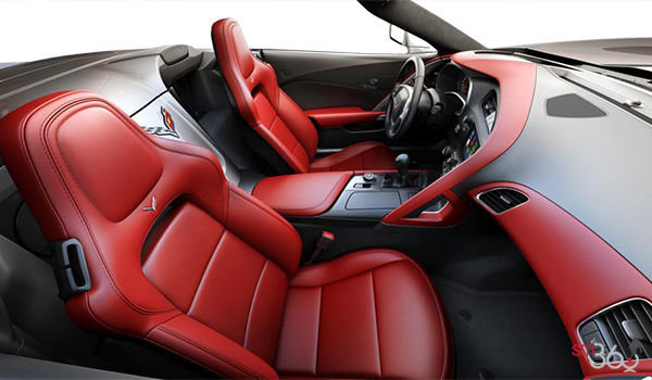 2018 Chevrolet Corvette Convertible Stingray 2LT | Photo 1 | Adrenaline Red GT buckets Perforated Mulan leather seating surfaces (703-AQ9)